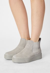 Tamaris - Kotníková obuv - soft grey - 0