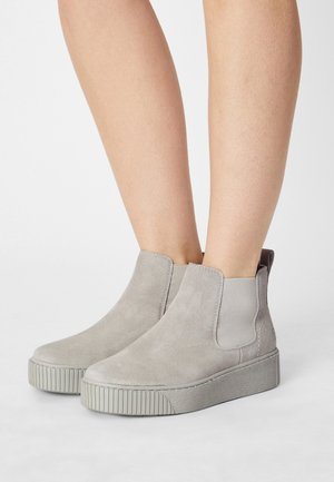 Ankle boots - soft grey