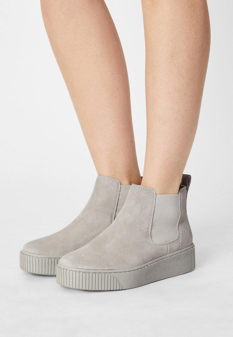 Tamaris - Kotníková obuv - soft grey