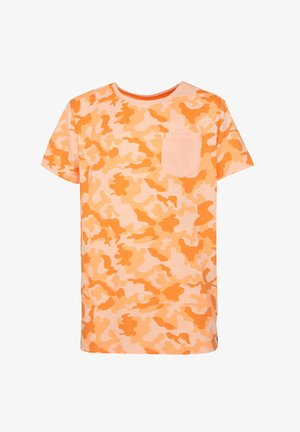 MET CAMOUFLAGEDESSIN - Print T-shirt - bright orange