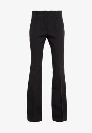 LUNGO - Spodnie materiałowe - nero