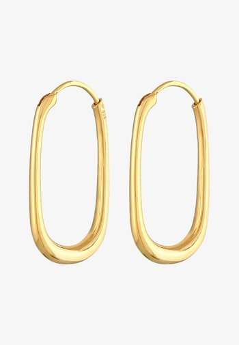 HOOPS DESIGN - Earrings - gold