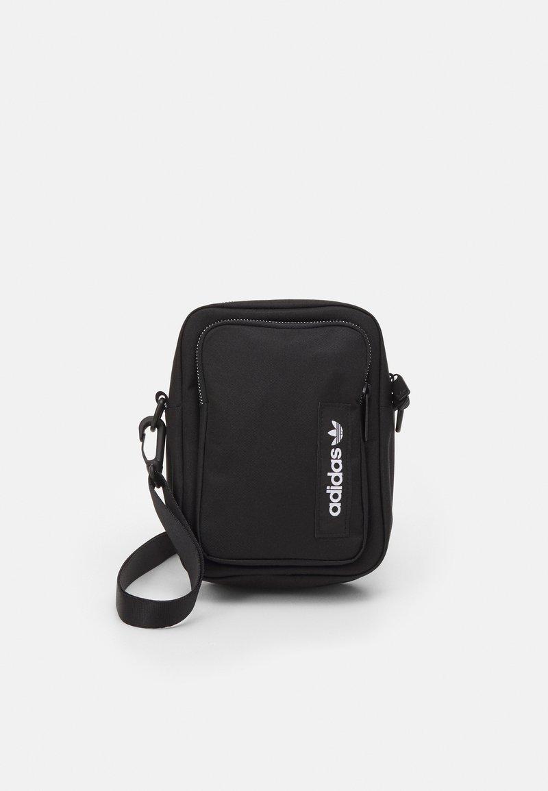 adidas Originals - SPORT MINI BAG UNISEX - Taška spříčným popruhem - black