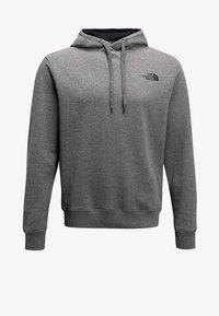 The North Face - SEASONAL DREW PEAK - Bluza z kapturem - medium grey heather - 5
