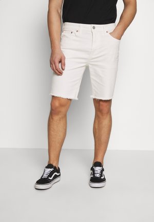 CLEAN INIDGO CUTOFF SHORTS - Shorts di jeans - air white