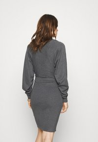 Zign - Shift dress - mottled dark grey - 2