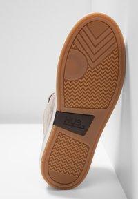 HUB - SUBWAY - Sneakers hoog - dark taupe/bone - 6