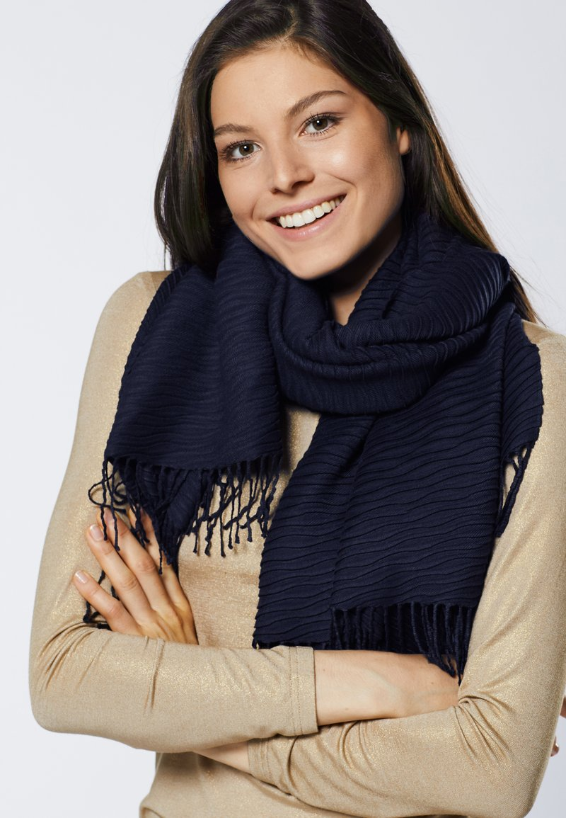 Young Couture by Barbara Schwarzer - Scarf - navy