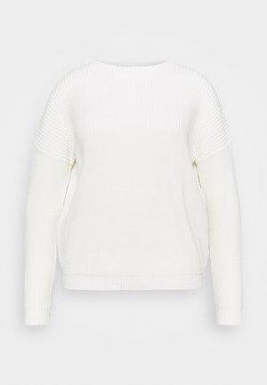 CREW NECK JUMPER - Jumper - white