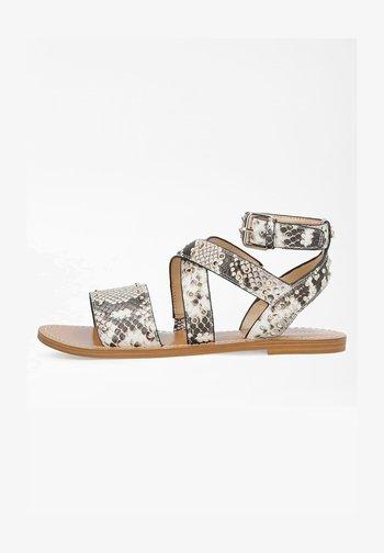 CEVIE  - Ankle cuff sandals - grau