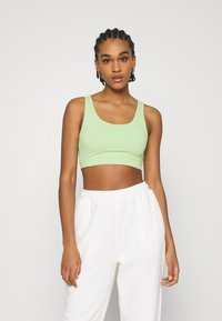 NA-KD - NA-KD X ZALANDO EXCLUSIVE CROPPED - Top - fresh green - 0