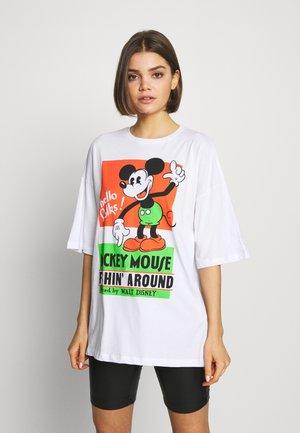 LIZ VINTAGE MICK - T-shirt med print - white