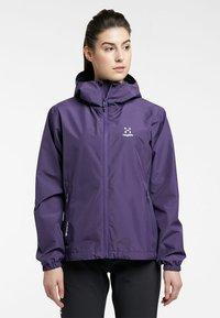 Haglöfs - BETULA GTX JACKET - Hardshell jacket - purple rain - 0