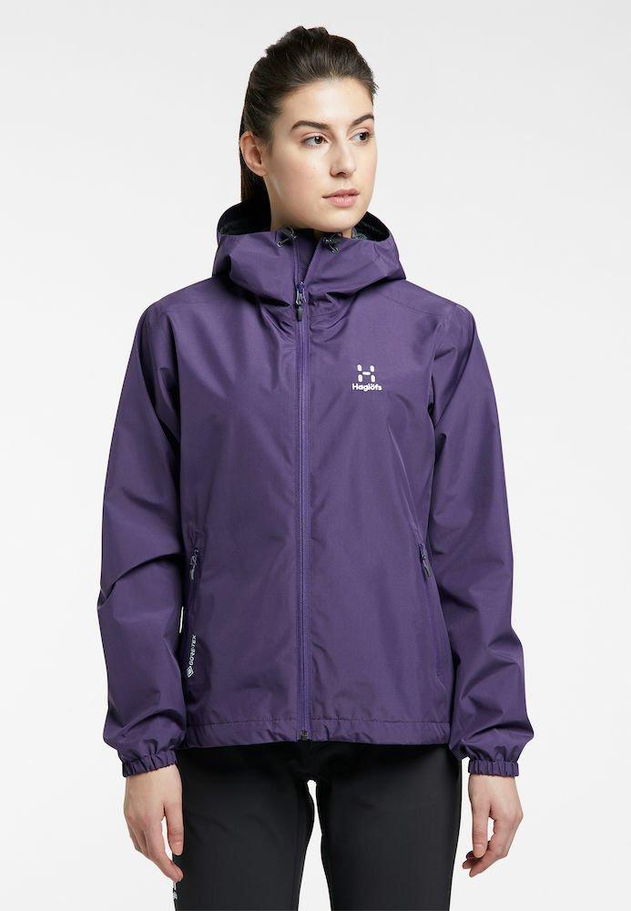Haglöfs - BETULA GTX JACKET - Hardshell jacket - purple rain