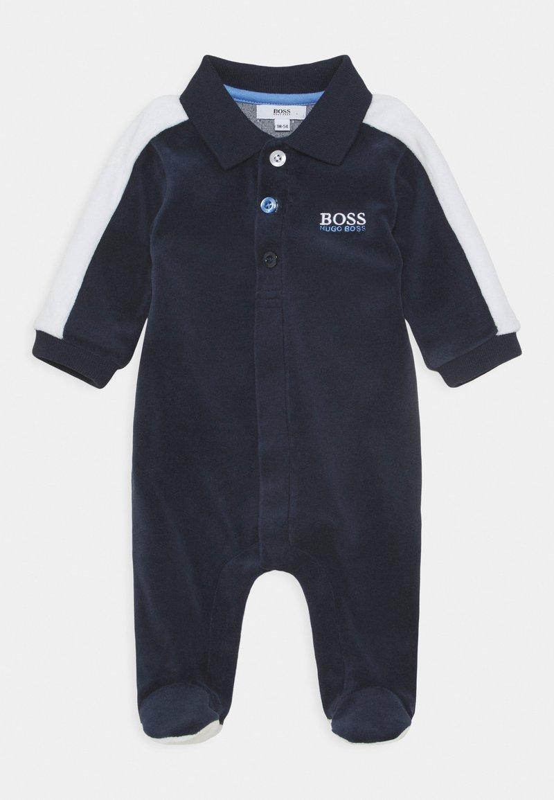 BOSS Kidswear - BABY - Pijama - navy