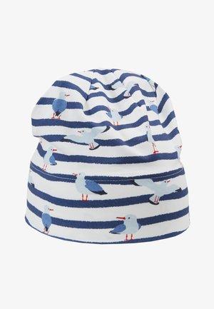 KIDS BEANIE MIDDLE - Bonnet - marine/wollweiß