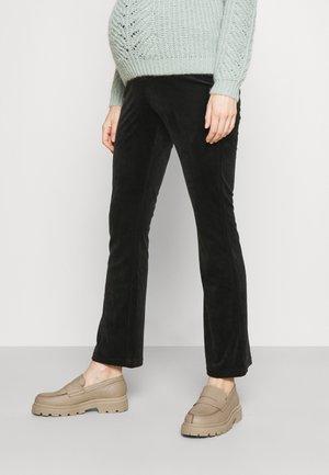 OLMLAYA SWEET FLARED PANT - Trousers - black