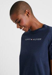 Tommy Hilfiger - DRESS HALF SLEEVE - Nightie - navy blazer - 3