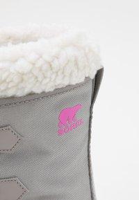 Sorel - YOUTH YOOT PAC - Winter boots - chrome grey/black - 5