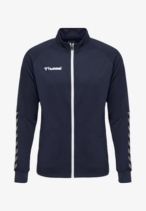 HMLAUTHENTIC  - Training jacket - dark blue