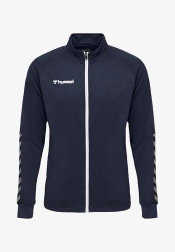 HMLAUTHENTIC  - Training jacket - dark blue