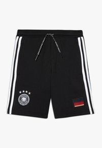 adidas Performance - DFB DEUTSCHLAND SHORT UNISEX - Urheilushortsit - black - 0