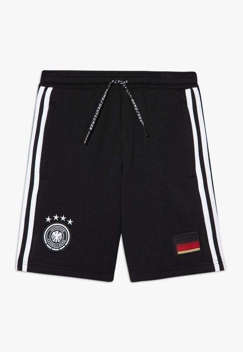 adidas Performance - DFB DEUTSCHLAND SHORT UNISEX - Urheilushortsit - black