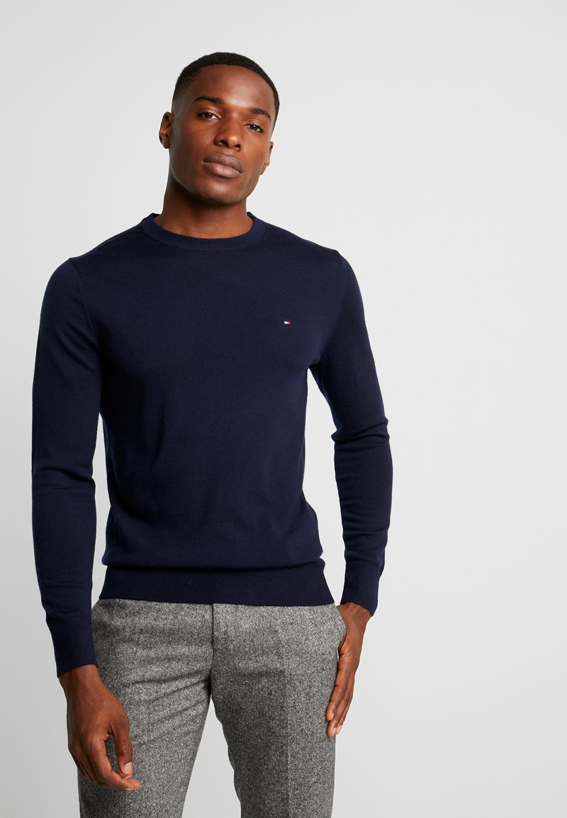 Tommy Hilfiger Tailored - LUXURY - Neule - blue