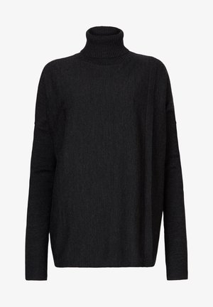 KOKO WRAP JUMPER - Jumper - black