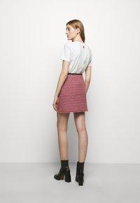 maje - JENALT - A-line skirt - fuchsia - 2