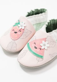 Robeez - FRUIT'S PARTY - First shoes - rose clair/vert clair - 1