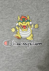Champion Rochester - CREWNECK NINTENDO - T-shirt imprimé - mottled grey - 7