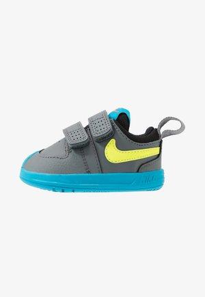 PICO 5 UNISEX - Sports shoes - smoke grey/lemon/laser blue/hyper crimson