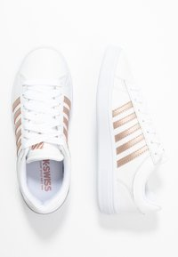 K-SWISS - COURT WINSTON - Trainers - white /rosegold - 5