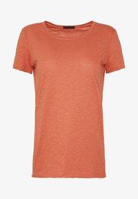 Sisley - ROUND NECK - Basic T-shirt - coral - 3
