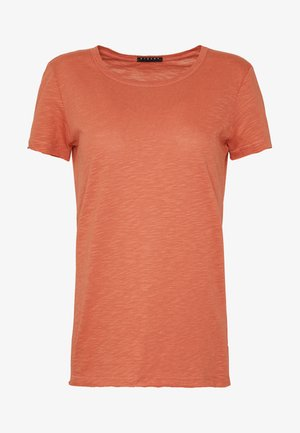ROUND NECK - Basic T-shirt - coral