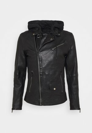 BE READY - Leather jacket - black