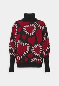 Farm Rio - HEARTS SWEATER - Jumper - multi - 4