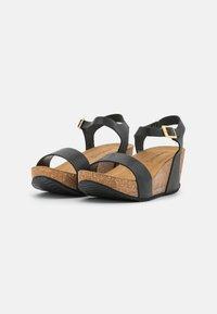Copenhagen Shoes - CINDY - Platform sandals - black - 2