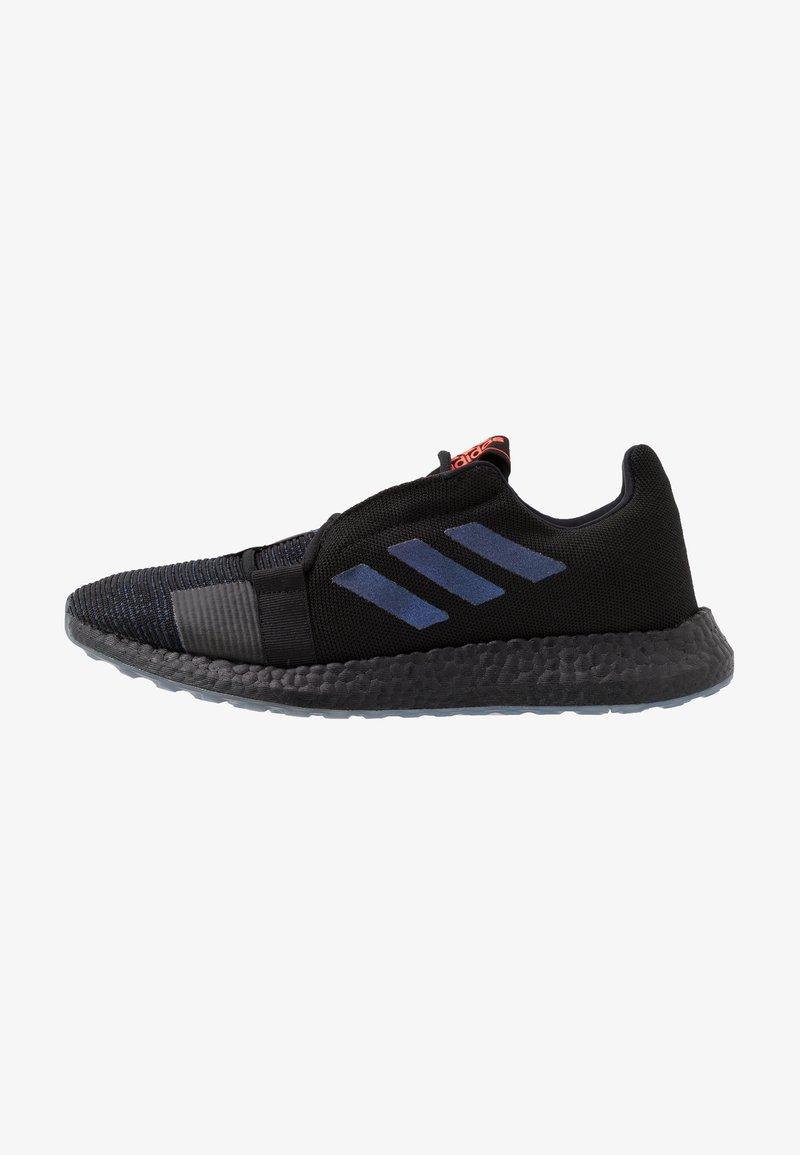 adidas Performance - PUREBOOST SENSEBOOST RUNNING SHOES - Obuwie do biegania treningowe - core black/blue vision metalic