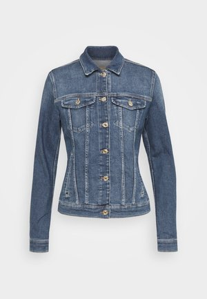 MODERN TRUCKER LUXE VINTAGE PACIFIC GROVE - Denim jacket - mid blue