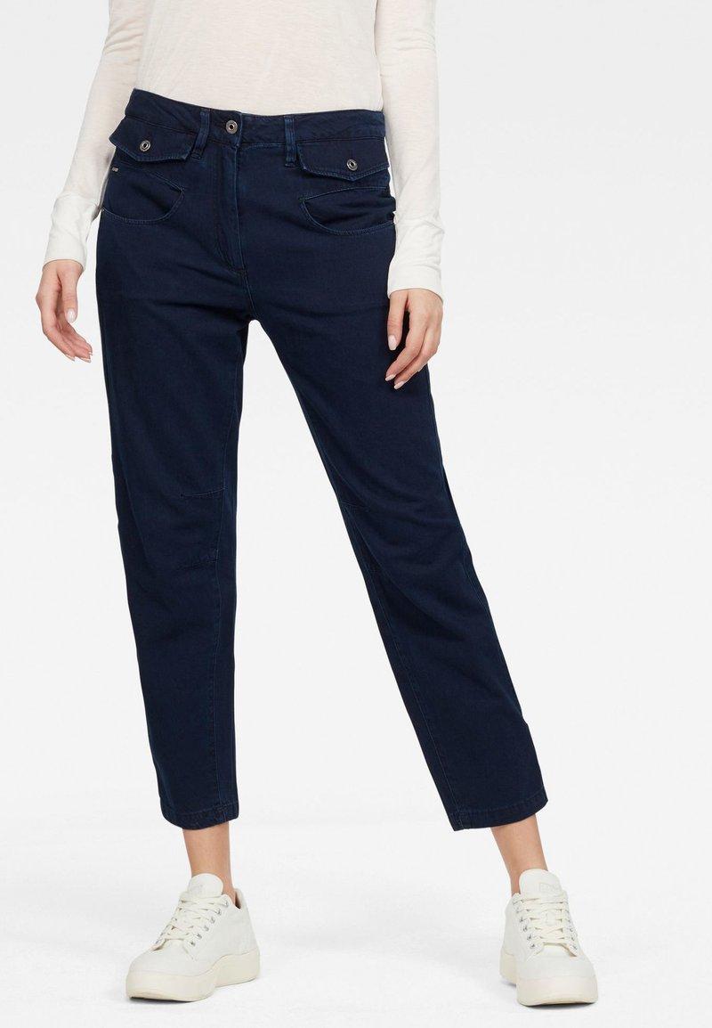 G-Star - ARMY RADAR MID BOYFRIEND - Straight leg jeans - sartho blue