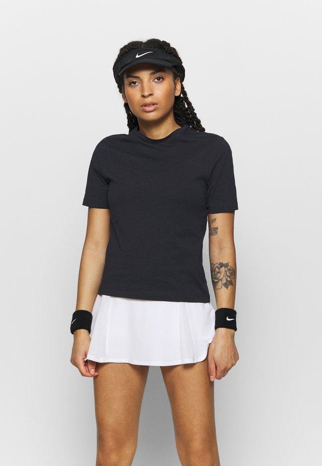 MICHAELA TEE - T-shirt - bas - black beauty