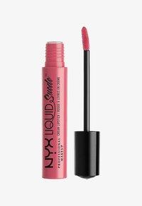 Nyx Professional Makeup - LIQUID SUEDE CREME LIPSTICK - Rossetto liquido - 9 tea & cookies - 0