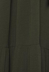 Bruuns Bazaar - NORI SICI DRESS - Shirt dress - green night - 8