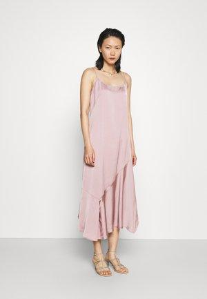 SCOOP NECK DRESS - Cocktail dress / Party dress - mauve