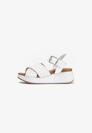 Sandales compensées - white wht