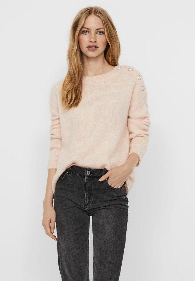 Sweatshirt - sepia rose