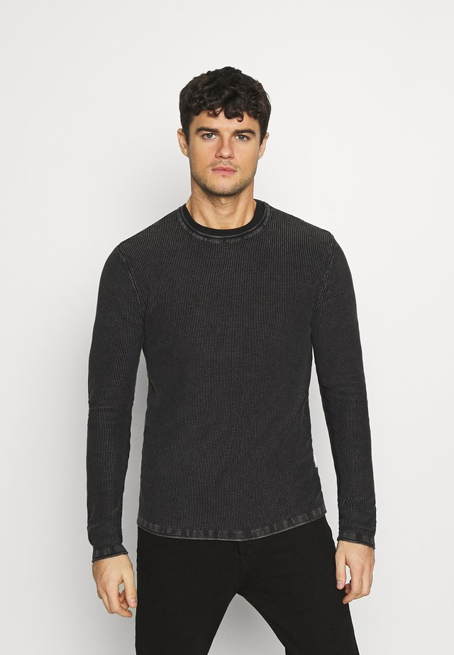 JORGE - Jersey de punto - black