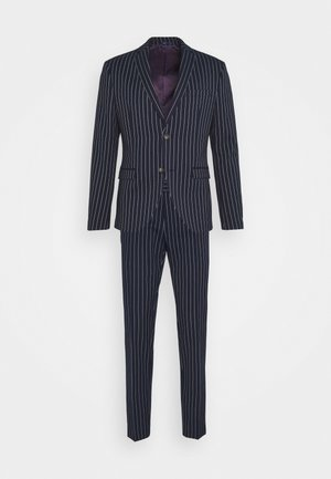 BOLD STRIPE SUIT - Suit - dark blue